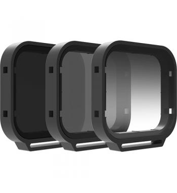 Set de 3 filtros PolarPro Venture GoPro Hero 5 / Hero 6