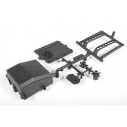 Plasticos porta bateria y ESC Yeti AXIAL (AX31125)