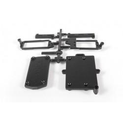 Elementos de carcasa de electrónica AXIAL Yeti XL (AX31021)